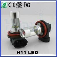 H11 LED Fog Lamp For Car White Red Yellow 4300K 6000K Auto LED Light h11 Bulb 12V 24V