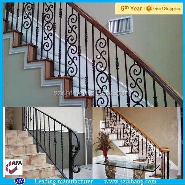Ferro fundido grades escada, Interior corrimão corrimão, Modern corrimão-Corrimãos e ...
