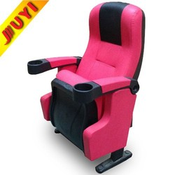 JY-626 For Sale Used Hot Selling Movie Automatic Commercial Waiting Theatre Manufactory Padded Church 3D Cinema Chair