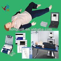 Advanced AED and trauma Sims CPR manikin trauma model in medical science