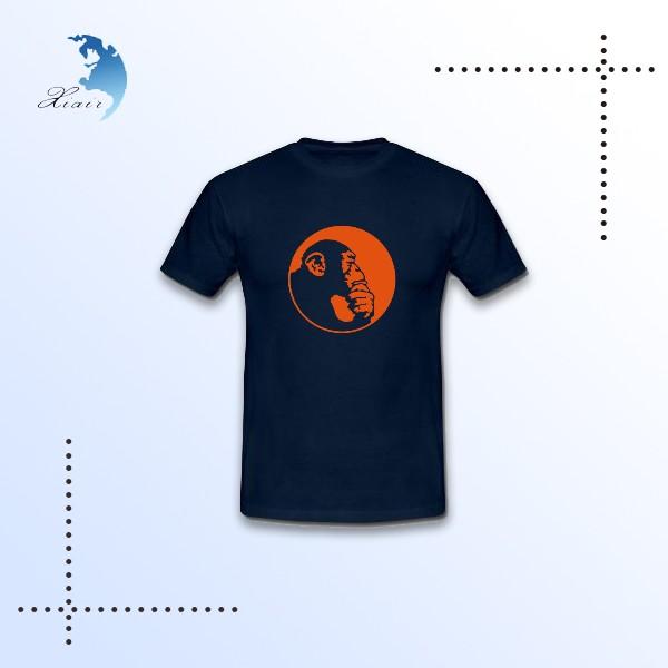 Promotionnel homme sérigraphie organique coton t-shirt personnalisé t shirt