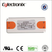 24V 2.5A LED Driver IP67 Power Supply 40w 50w 55w street light internal led driver constant current