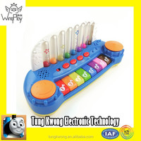 gorgeous new product 2015 for kids cheap and good electric blue plastic toy piano keyboard for kids