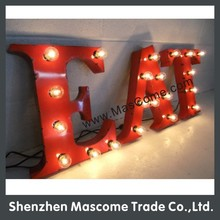vintage marquee lights for house,bar,building,park,cafe
