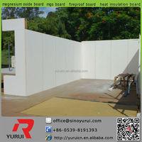 Yurui high quality mgo (magnesium oxide)board made in china