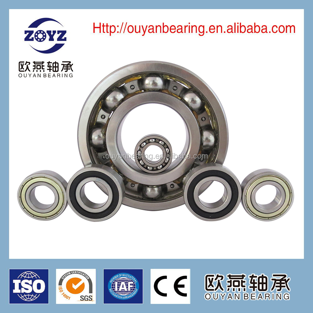 Electric motors bearings deep groove ball bearings 63001 for Electric motor bearings suppliers