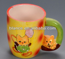 3D ceramic mug for Cat Collections