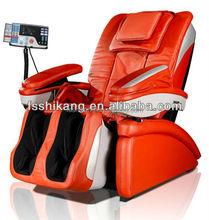 cheap music recliner massage chair with foot rooller