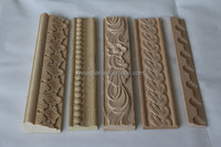 hot sale antique wood mouldings/decorative furniture trim