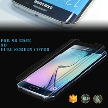 100% Full Cover For Mobile accessory Samsung s6 edge screen protector / matte screen protector factory / protector screen