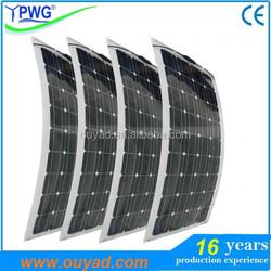 Semi Flexible Solar Panel 20W-160W