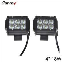 Hotsale high quality auto lighting combo 4 inch 18w 12v led work light bar