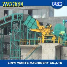 Waste metal crushing machine for different metals on sale