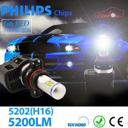 Qeedon excellent customer service h1 led light headlighting headlight for chery high quality car