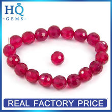 Corundum Beads Synthetic Faceted Ball Ruby Beads Corundum Price