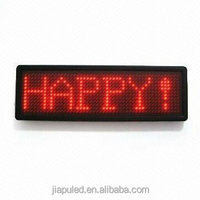 12v Pixel digital electronic advertising board with scrolling message