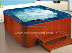 2015 china New design indoor portable massage bathtub spa dog bathtubs