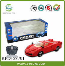 Model car 1:16 scale 4ch rc car model with light,high quality rc car