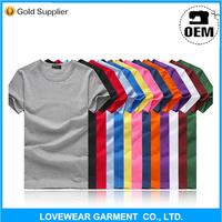 Cheap Price China Clothing factory High Quality 100% pure cotton Plain T-shirt Manufacturer
