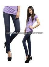 Diseñador de punto color púrpura pantalones vaqueros pantalones skinny--- de primera calidad