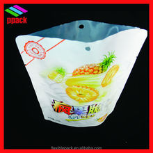 vmpet laminated stand up custom plastic bags