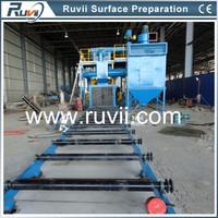 Q69 series Sand Blasting Machine For Beam And Steel Plate