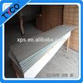 Feuilles de mousse de polystyrène toit et le mur d'isolation thermique comprimé xps panneau de mousse