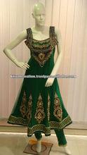 Frock Style Bridal Designer Salwar Kameez