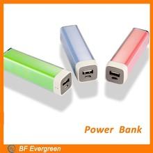 2015 Fashion Mini 1500mA Portable Power Bank For Mobile Phone Travel Essentials