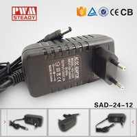 Universal use 12V2A 25W ac dc adapter Industrial Adaptor