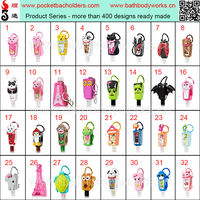 Portable Antibacterial Hand Sanitizer Holders,29 /30ml Hand Gel Antibacterial Alcohol Kill 99.9% Germs Without Water