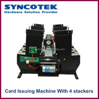 Hold 4 Different Type Cards With 4 Stackers Business Card Dispenser Machine SK-AD5