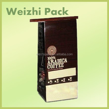 Manufacturer In China coffee bean bags/Food Grade Side Gusset Sealed Plastic Coffee