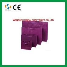 Purple shopping paper bag,paper gift bag,paper packaging bag