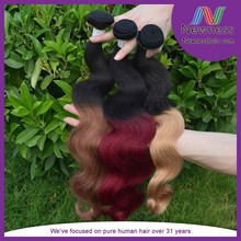 Quality unprocessed virgin remy crochet ombre cyber monday hair extension from Anhui JRX factory