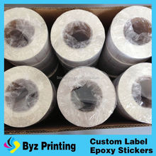 Heat Code Transfer Currency Printing Adhesive sticker label Paper