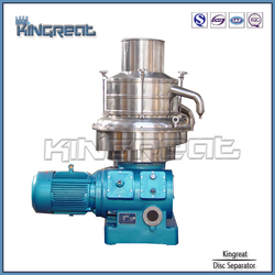 Automatic High Speed Disc Vertical Rotary Fish Oil Processing Equipment