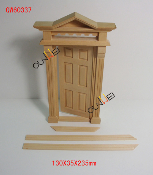 Dollhouse Accessories Christmas Door Fairy Colorful
