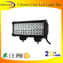 Super bright led 4 rows led light bar four rows for jeep off road 4x4 automobile