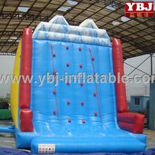 inflatable rock climbing wall/kids outdoor activities inflatable climbing buildings