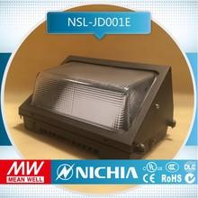 free sample 40w light ip65 dlc ul outdoor lighting led wall pack light dlc ul listed, building facade lighting