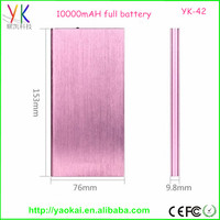 Low price !!!Mobile Thin Power Bank work for brand cell phones