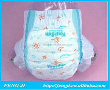 Super soft super breathable sleepy baby diaper manufacturer