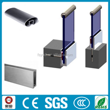 u channel aluminum railing accessories for stair
