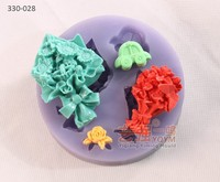 forma de silicone cake flower,silicone cake form,baking moulds
