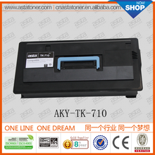 factory direct sell For Kyocera PRINTER FS-9130DN/9530DN Compatible toner cartridge TK-710/711/712/713/714