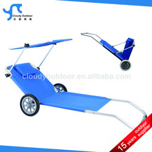 aluminium folding beach trolley cart