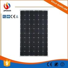 High quality CE ROHS 220w monocrystalline solar panel