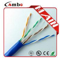 High Quality 4 Pair 24AWG Bare Copper Unshielded Twisted Pair kabel elektrik utp