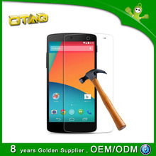 0.3mm best tempered glass screen protector for lg nexus 5 mobile phone accessories